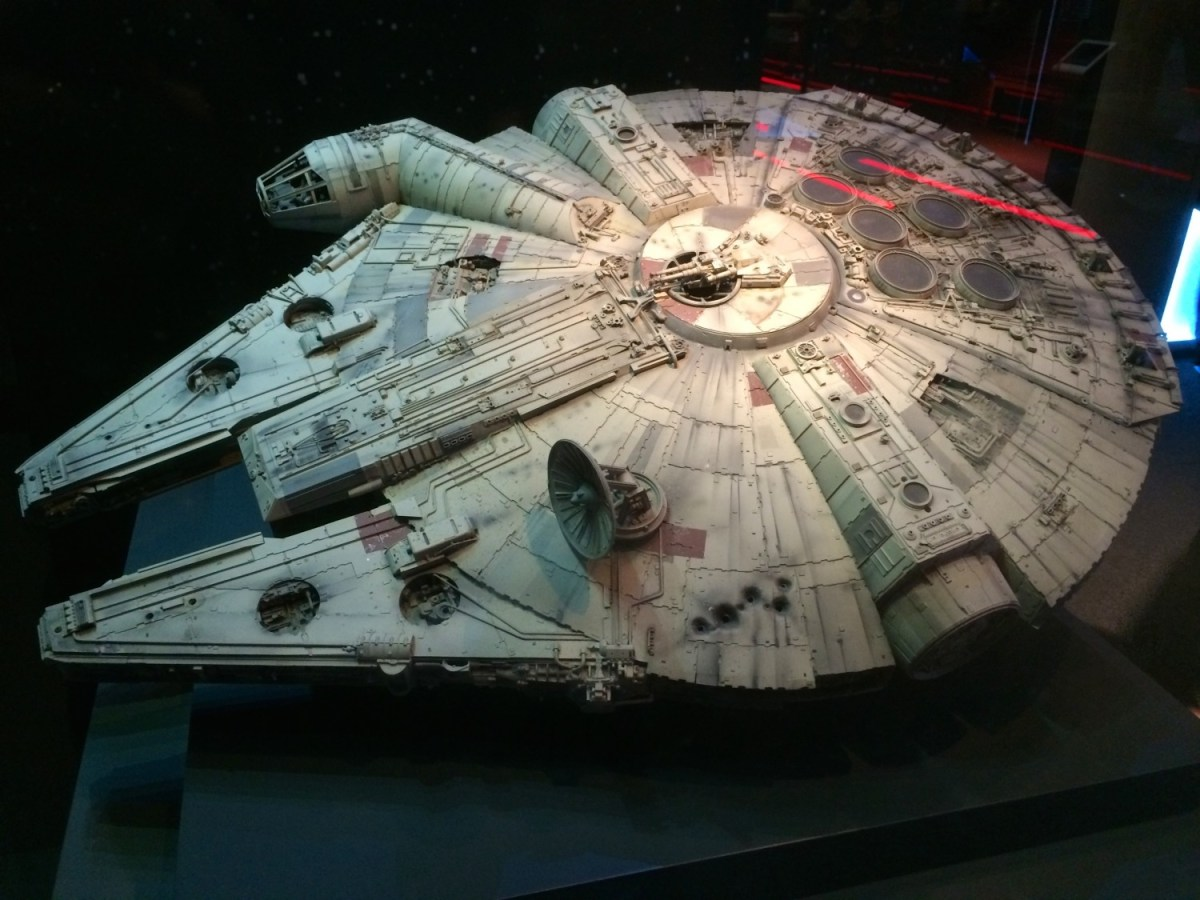 Essential illustrated history of the Millennium Falcon