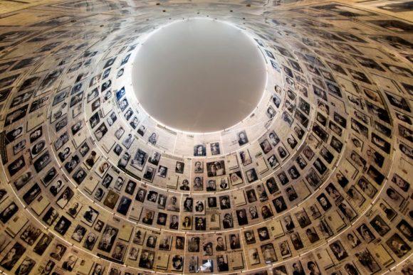 Photos of Holocaust victims