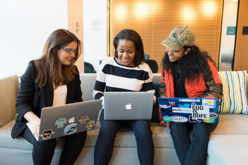 Highlighting the issue of diversity in tech through CC licensed stock photos