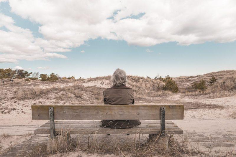 Sitting on a bench in quiet desperation