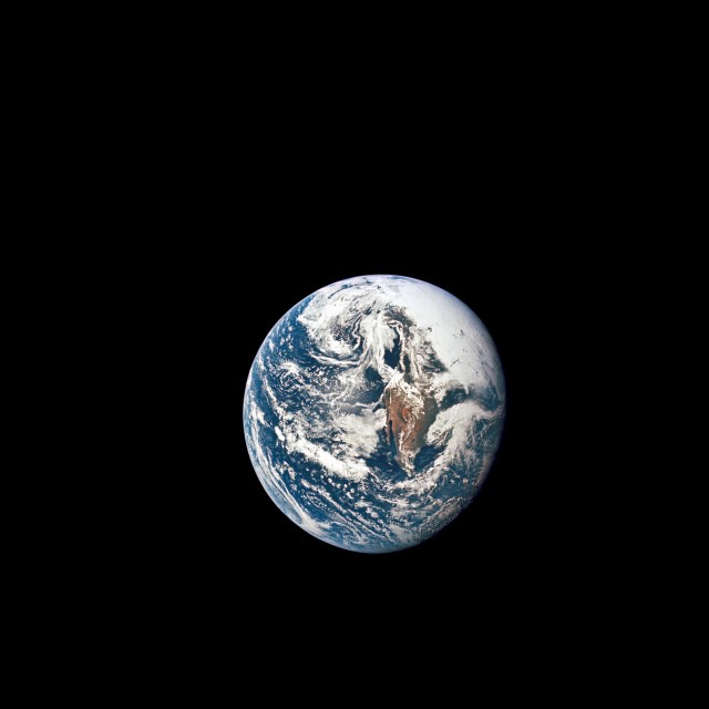 May 18, 1969 - Apollo 10 View of the Earth