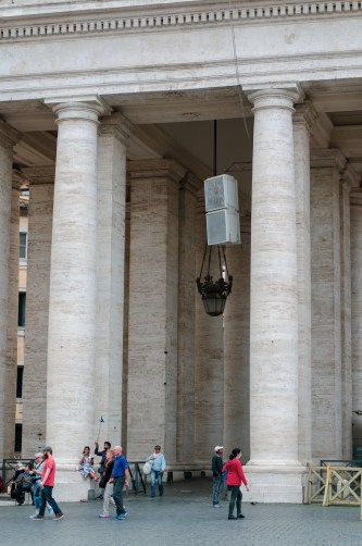 I went for a walk with a colleague through St Peter's Square. I snapped some photos along the way.