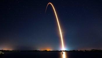 Rocket launch for the Nusantara Satu Mission