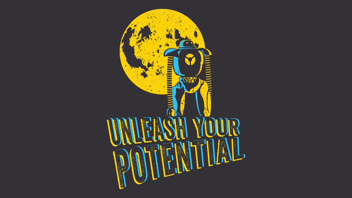 Unleash Your Potential Robot by Kate Hazen