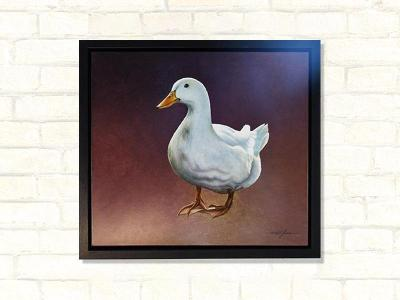 blanche duck original artwork paul james