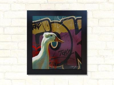toke duck paul james original artwork
