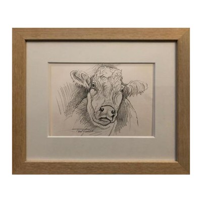 Madge Cow Original Sketch Paul James