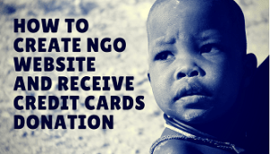 how to create ngo website feature