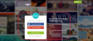 how to register canva account