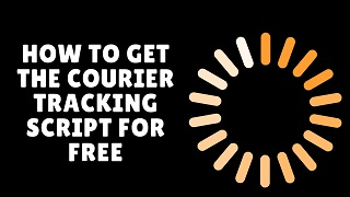 How to get the courier tracking script for free