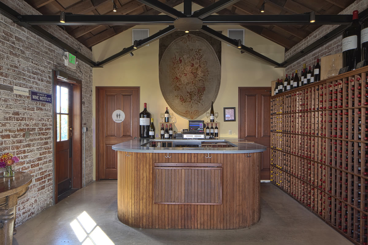 Elizabeth Spencer Tasting Room Paul Kelley Architecture