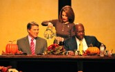 Bachmann, Perry, Cain all served up what Evangelicals wanted