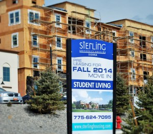 900 bed Sterling student apartments will open this Fall