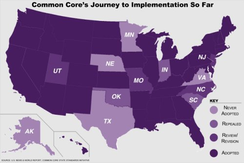 Implementation of Common Core/US News and World Report