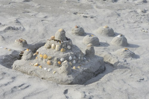 Blogging is the sand castle of writing, but waves don't wash it away
