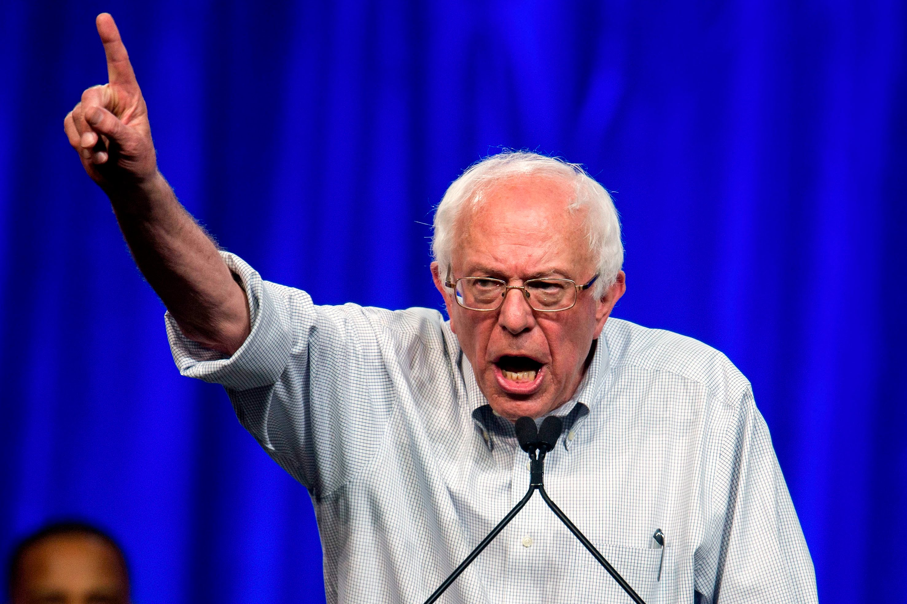 Bernie Sanders is passionate, if he is anything