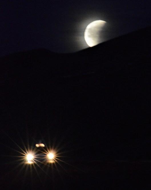Buh, bye Moon!