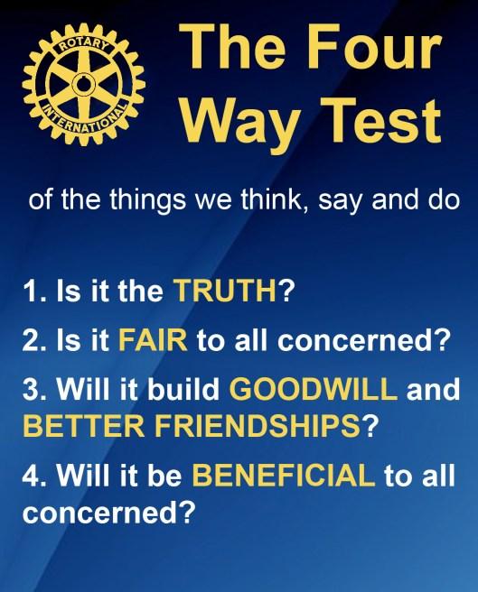 Four-Way Test