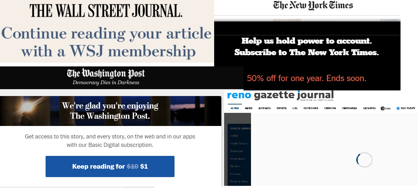 Hiding Journalists Behind News Organization Paywalls-PAULx