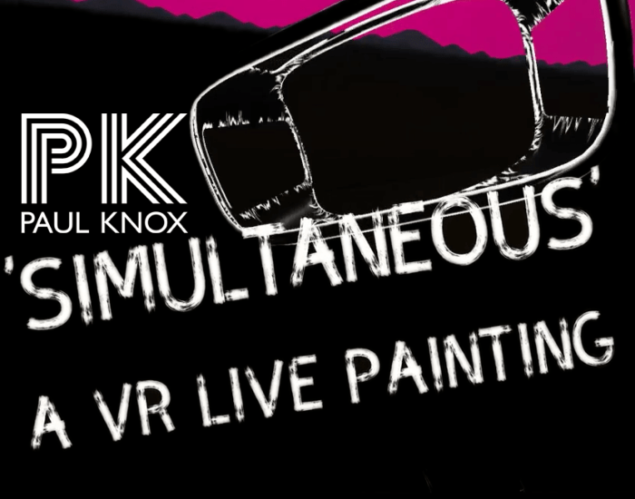 DJ VR Collaboration between Linnea Maas and Paul Knox