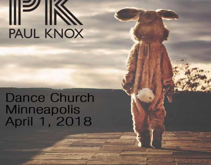 Dance Church April 1, 2018 - Cover Art