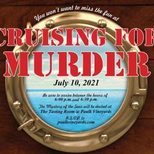 Cruising For Murder Mystery Dinner