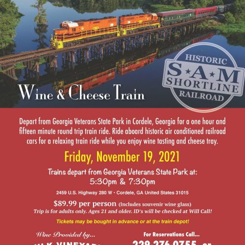 wine cheese train