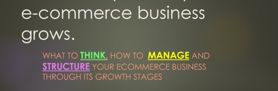 Stages of Ecommerce Growth