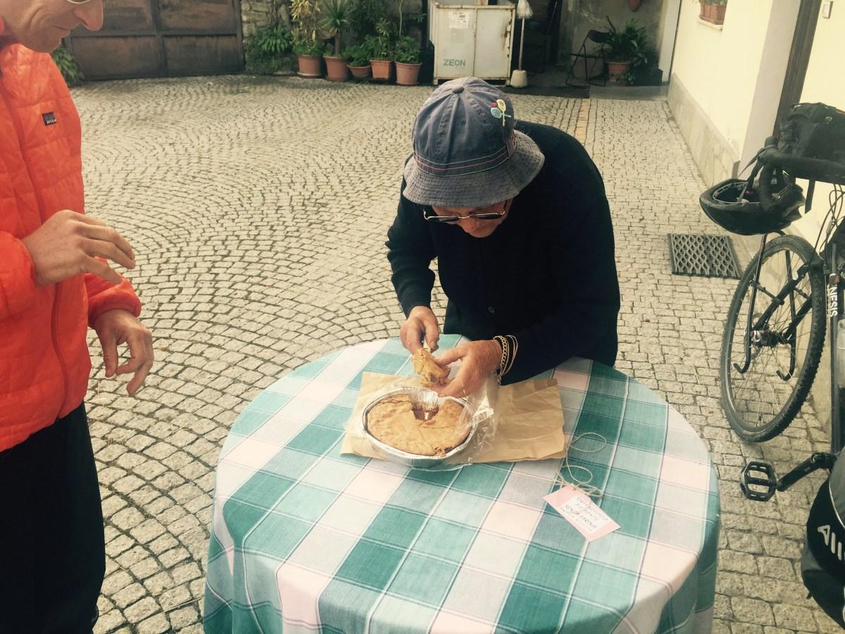 Rita and Hazelnut tart