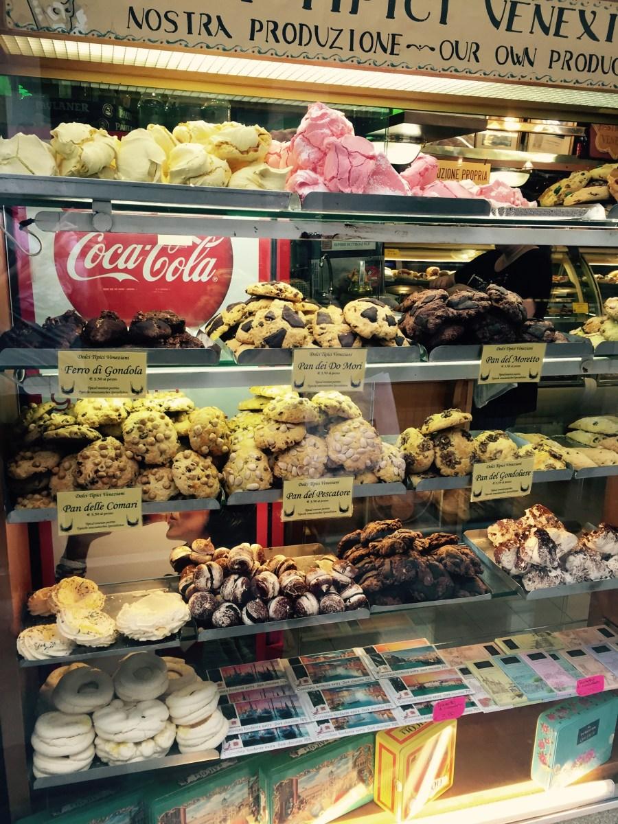 Fine biscuits of Venice