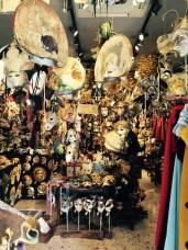 Mask shop of Venice