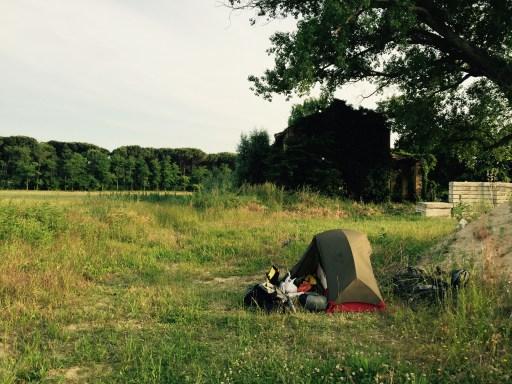 Wild-camp, Jesole