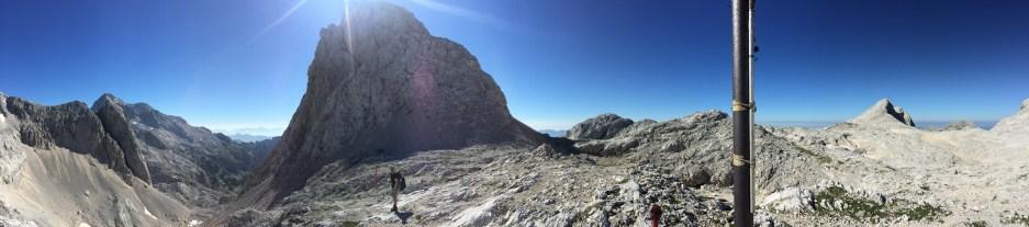 Hribarice pass, Triglavski National Park