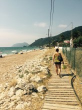 Beach Agios Gordios, Corfu