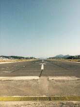 Run way, Corfu