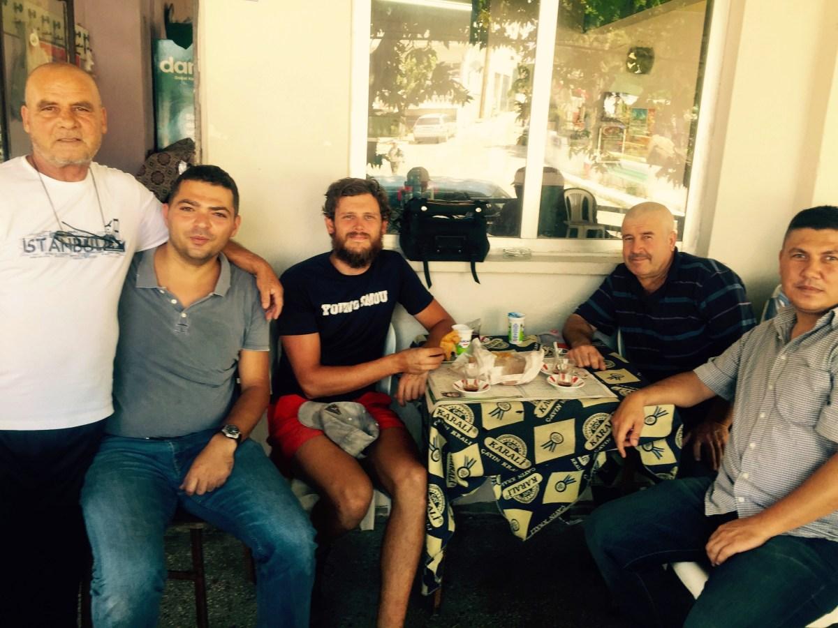 Chi cafe stop, Turkey