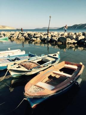 Methoni harbor Greece