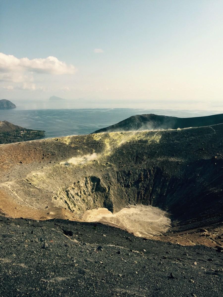 Crater of Vulcano, Italy