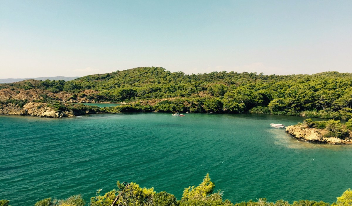 Stunning bay south of Bordum, Turkey