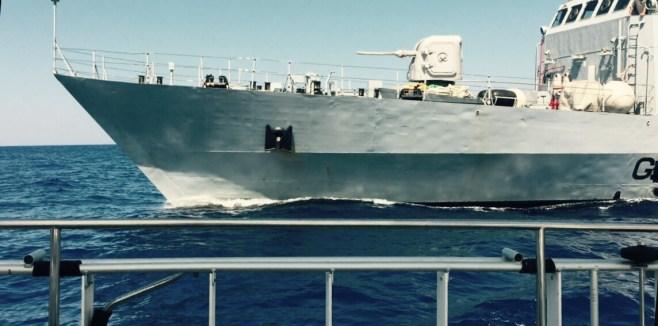 Italian Guardia patrol ship alongside