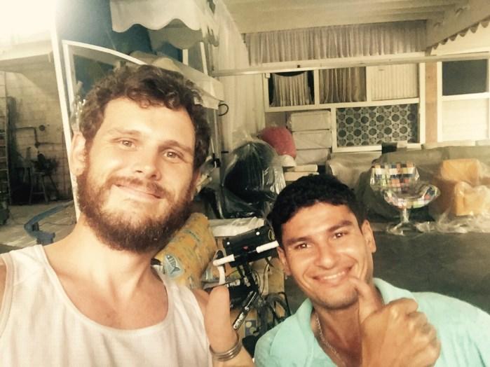 Welder and I in Itanhaem, Brazil