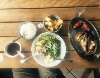 Big buffer meal, Curitiba, Brazil