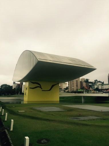 Museu Oscar Niemeyer - Rua Marechal Hermes - Centro Cívico, Curitiba - Paraná, Brazil