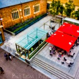 Exeter From Above, tilt shift photography cityscape street photographer herefordshire 4864