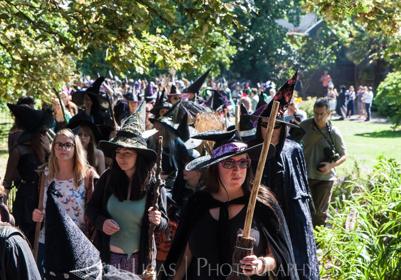 Witches in Exeter event photographer photography herefordshire 5406