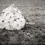 Snowman Melting, landscapes and nature photographer photography herefordshire 2261