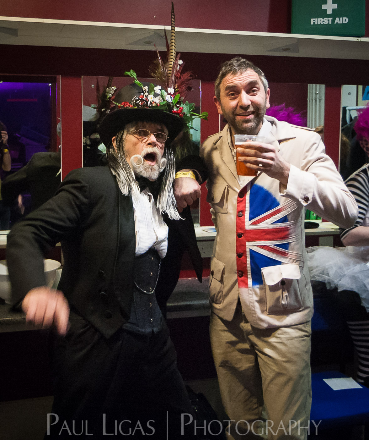 Steampunk Yule Ball 2014, event photographer photography Herefordshire music concert Professor Elemental and Lord Montague Jacques Fromage 6588