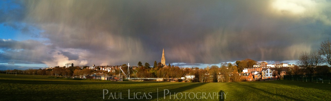 Fallstreak over Exeter landscape photographer photography Herefordshire cityscape 0227