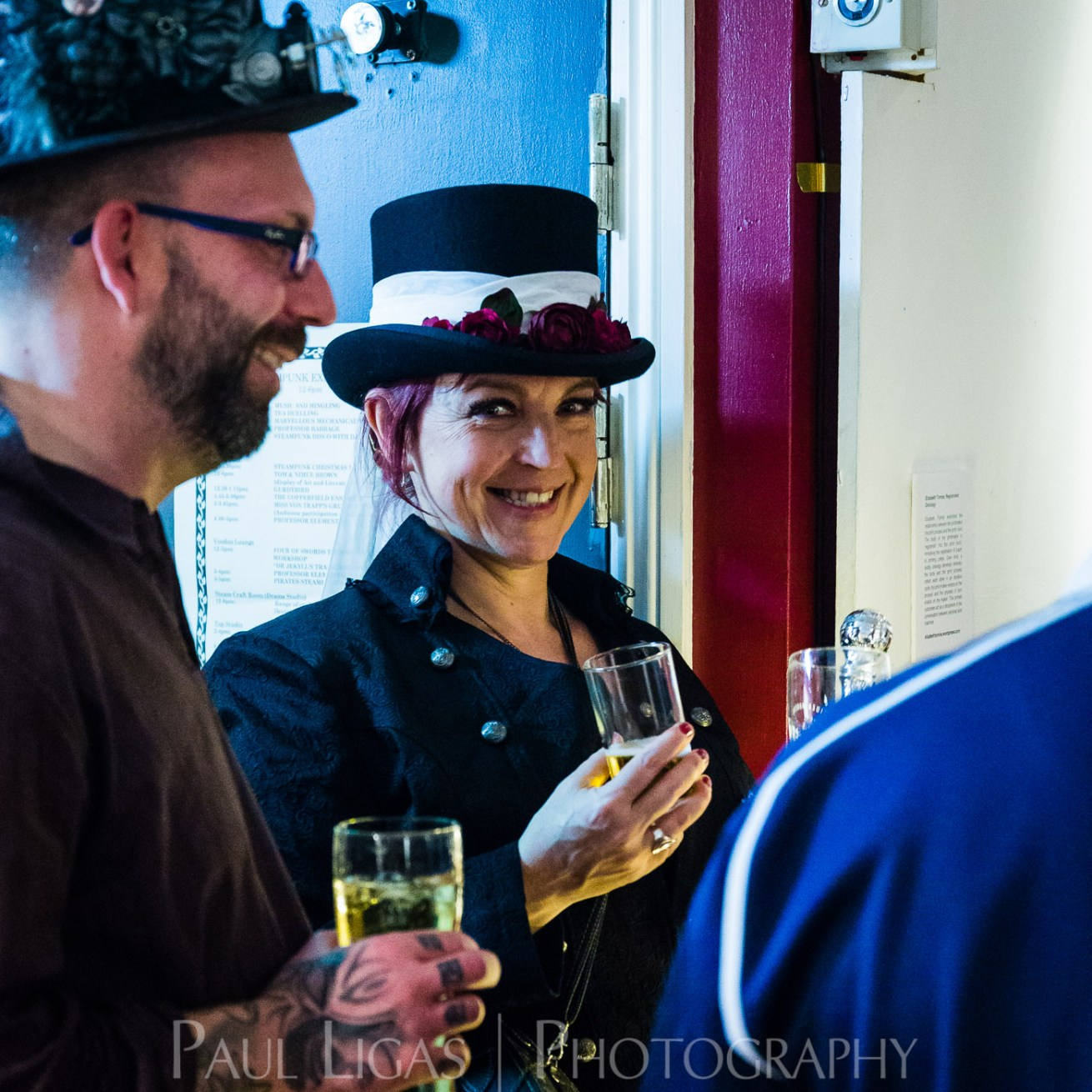 Steampunk Yule Ball 2015 event photographer Herefordshire photography 3209