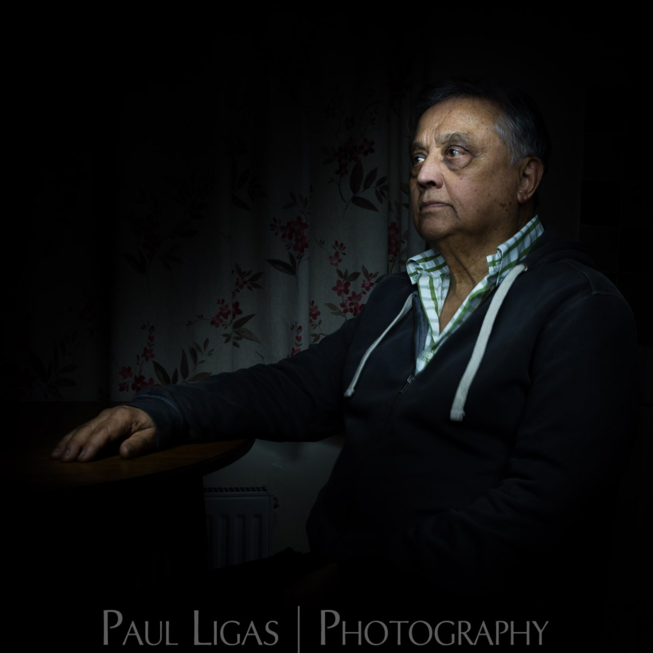 Light Painting Portrait photographer Herefordshire photography 7102